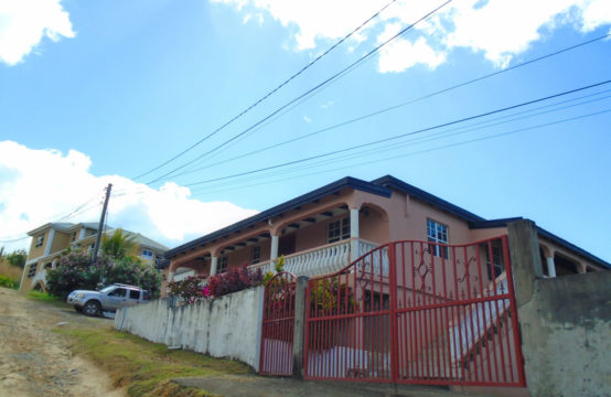 Furnished 3 bedroom apartment for rent in Morne Daniel (RENTED OUT)