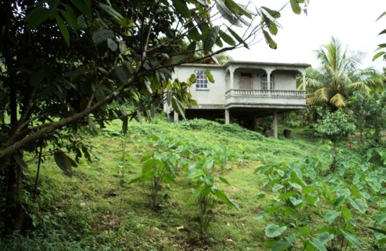 Unfinished House and Land for Sale in Grand Fond