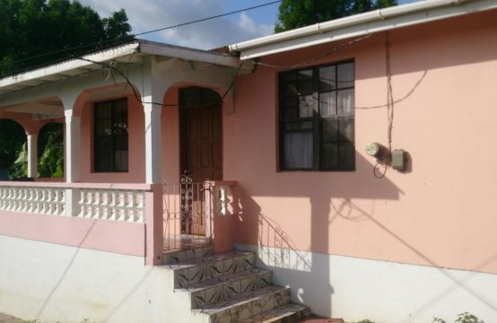Dominica Real Estate: 3 Bedroom House For Sale In Morne Raquette