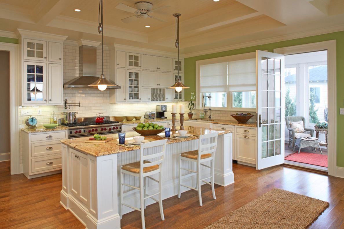 Large Kitchen Island Designs And Plans: Eat-In Kitchen Or Dining Room?