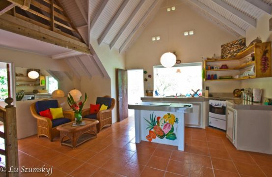 Enchanting Off-The-Grid Property for Sale at Melville Hall, Dominica