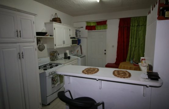 2 Bedroom Apartment For Rent In Wall House, Dominica