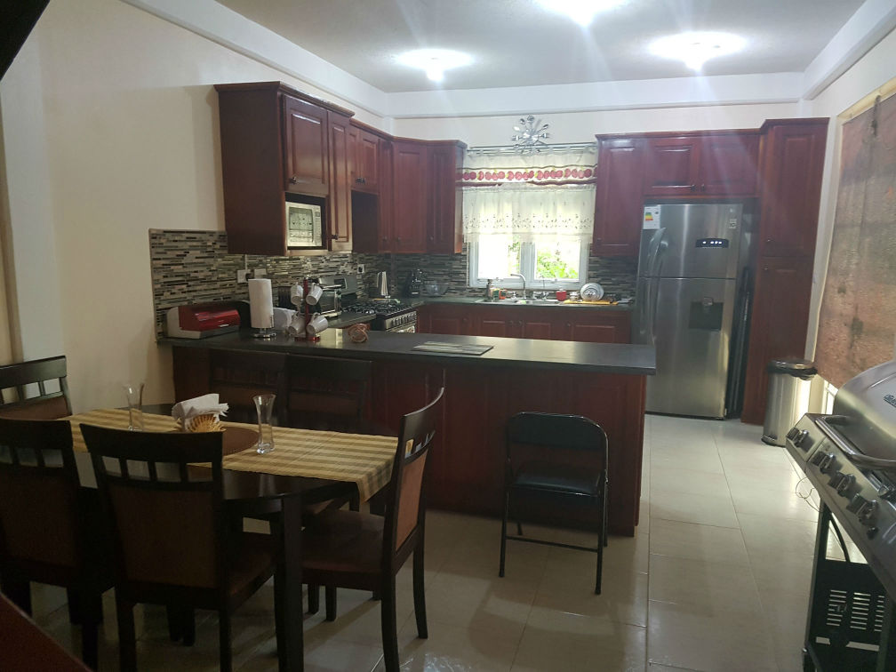 Dominica Real Estate: furnished 4 bedroom home